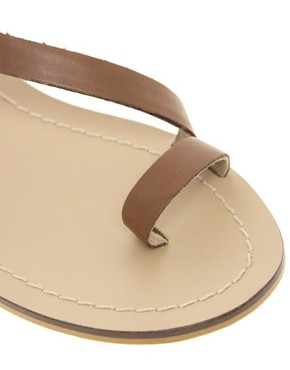 Image 2 ofMiss KG Kelsey Leather Flat Sandals