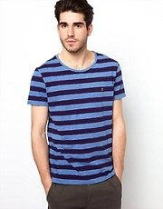 Farah Vintage T-Shirt with Stripe