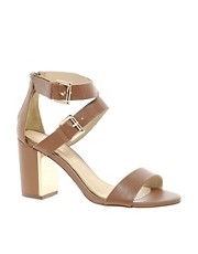 ALDO Kalika Double Strap Heeled Sandals