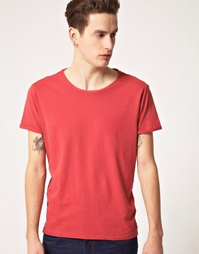 Image 1 ofScotch &amp; Soda Sun Faded Scoop Neck T-Shirt