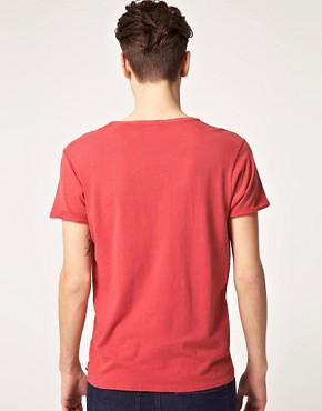 Image 2 ofScotch &amp; Soda Sun Faded Scoop Neck T-Shirt