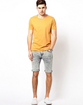 Image 4 ofRiver Island Acid Vinny Light Shorts