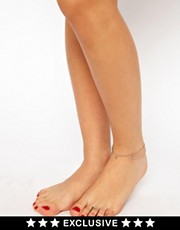 Susan Caplan Exclusive For ASOS Vintage &#39;90s Star Anklet And Toe Ring Set