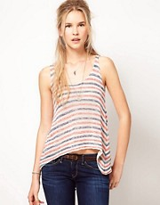 Pepe Jeans Knitted Vest With Stripes