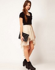 Goldie Hi Lo Skirt