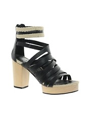 Sole Society Evie Heeled Sandal