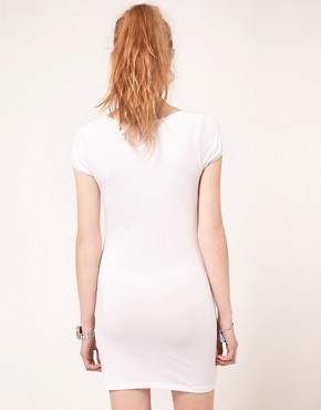 Image 2 ofVila Jersey Short Sleeve Tunic Dress
