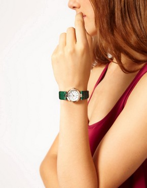 Image 2 ofOasis Green Strap Watch