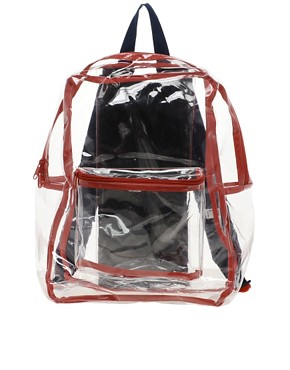 Image 1 ofAmerican Apparel Clear Backpack