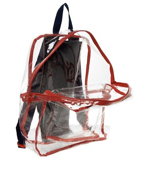 Image 2 ofAmerican Apparel Clear Backpack