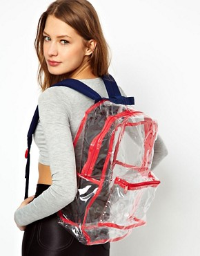 Image 3 ofAmerican Apparel Clear Backpack