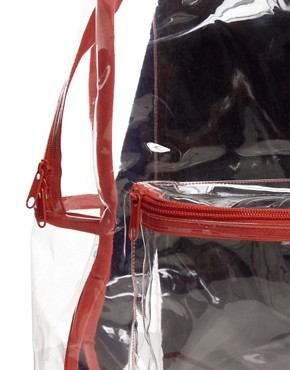 Image 4 ofAmerican Apparel Clear Backpack