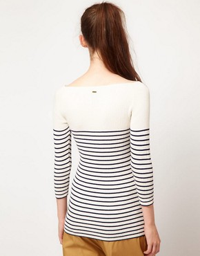 Image 2 ofG-Star Striped Knitted Top