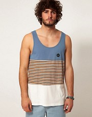 RVCA Vest Sin Layered Stripe