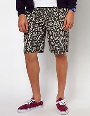 Vans Chino Shorts Dewitt Tribal Print