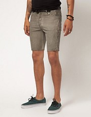 Religion Stafford Cord Shorts