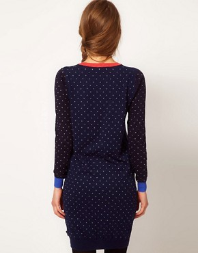 Image 2 ofPaul by Paul Smith Spotty Jumper Dress