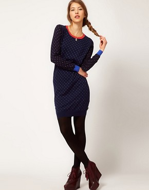 Image 4 ofPaul by Paul Smith Spotty Jumper Dress