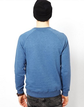Image 2 ofASOS Sweatshirt With Raglan Sleeves
