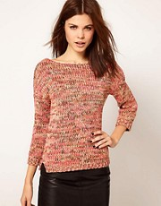 Warehouse Metallic Yarn Jumper