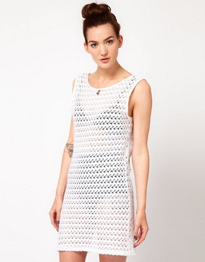 Image 2 ofAmerican Apparel Scoop Back Dress
