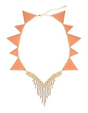 Collar adornado estilo bandern de ASOS