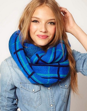Image 1 ofASOS Check Snood