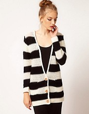 Motel Stripe Cardigan