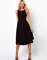 ASOS Midi Sundress With Scoop Back