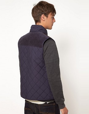 Image 2 ofASOS Gilet With Aztec Pocket