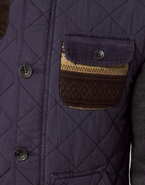 Image 3 ofASOS Gilet With Aztec Pocket