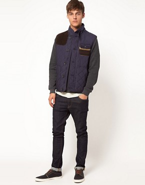 Image 4 ofASOS Gilet With Aztec Pocket
