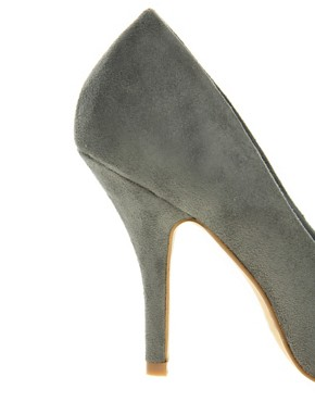 Image 2 ofASOS SIDNEY Pointed High Heels with Metal Toe Cap