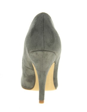 Image 3 ofASOS SIDNEY Pointed High Heels with Metal Toe Cap
