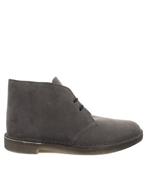 Image 4 ofClarks Originals Suede Desert Boots