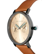 Ted Baker Leather Strap Watch TE1094