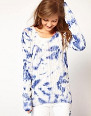 Maison Scotch Tie Dye Jumper