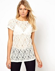 Oasis Lace T-Shirt