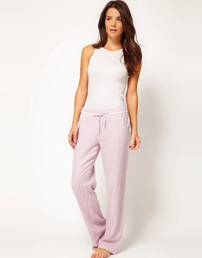Image 1 ofEsprit Nordic Stripe Long PJ Pant