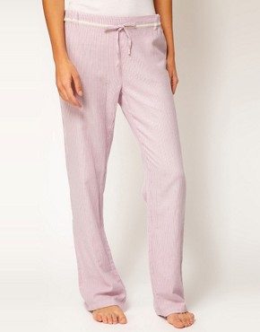 Image 4 ofEsprit Nordic Stripe Long PJ Pant