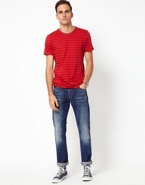 Image 4 ofJ Lindeberg T-Shirt Plain Crew Neck