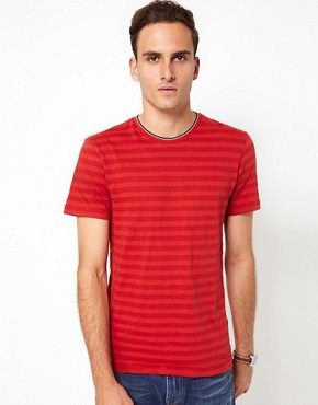 Image 1 ofJ Lindeberg T-Shirt Plain Crew Neck
