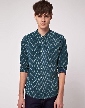 Image 1 ofASOS Long Sleeve Aztec Shirt