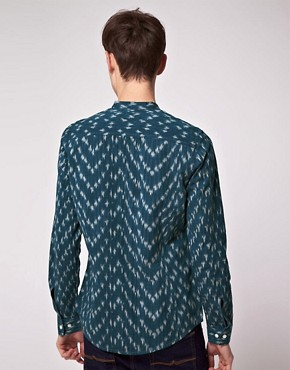 Image 2 ofASOS Long Sleeve Aztec Shirt