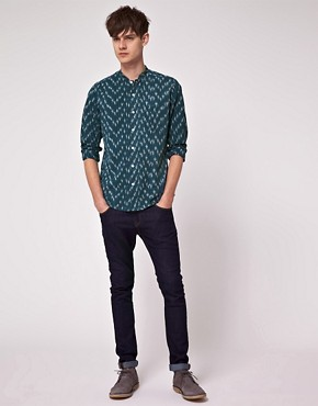 Image 4 ofASOS Long Sleeve Aztec Shirt