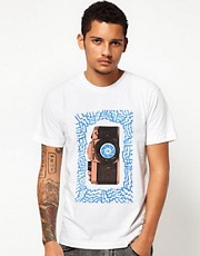 Camiseta con cmara azteca de The Quiet Life