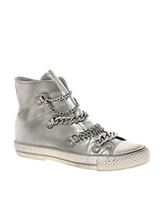 Ash Val Chain High Top Trainers