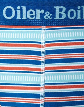 Image 3 ofOiler &amp; Boiler Rail Stripe 2 Pack Trunks