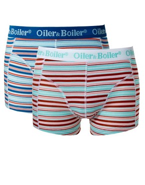 Image 1 ofOiler &amp; Boiler Rail Stripe 2 Pack Trunks