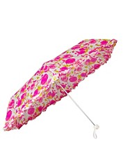 Lulu Guinness Rose Print Superslim-2 Umbrella